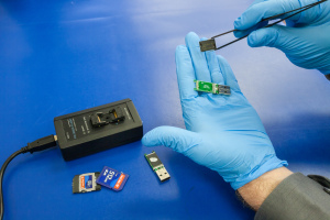 Flash drive recovery at ITC Data Recovery Lab.